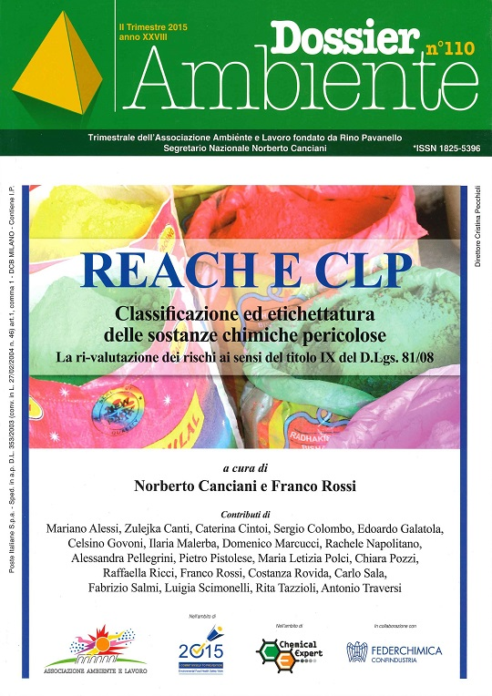 Dossier Ambiente 110 – Reach e CLP