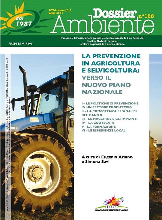 Dossier Ambiente 128 – La Prevenzione in agricoltura e selvicoltura: verso il nuovo piano nazionale