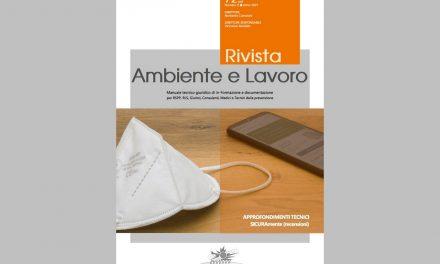 Rivista Ambiente e Lavoro n. 72/2021