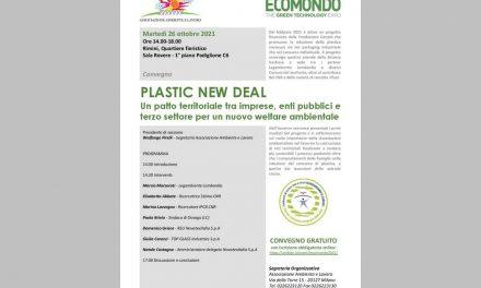 """Ecomondo 2021, iscriviti al nostro convegno """"PLASTIC NEW DEAL"""" – Rimini, 26 ottobre"""